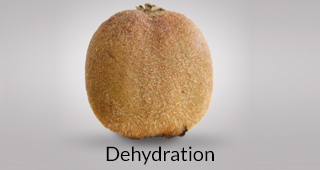Kiwi defect: dehydration