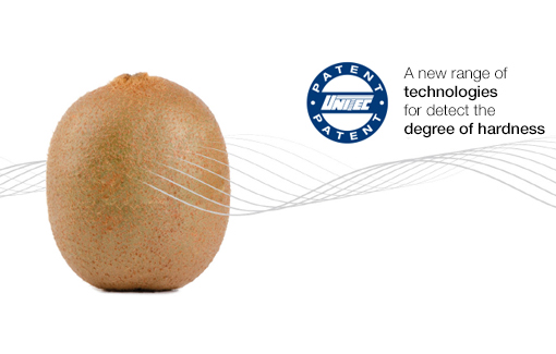 Unitec technologies for detect the degree of hardness of the kiwis